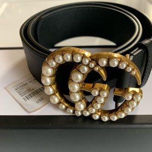 Accessories - Pearl Gucci belt